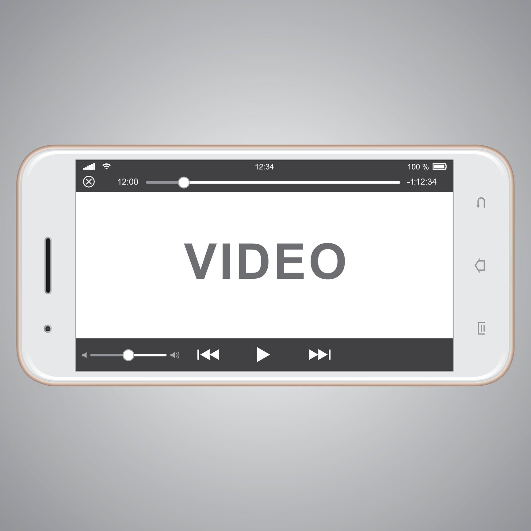 video on smart phone