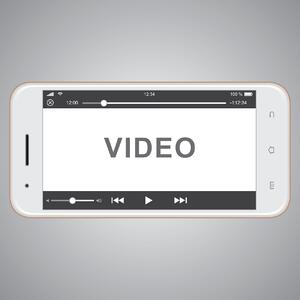 video on smart phone